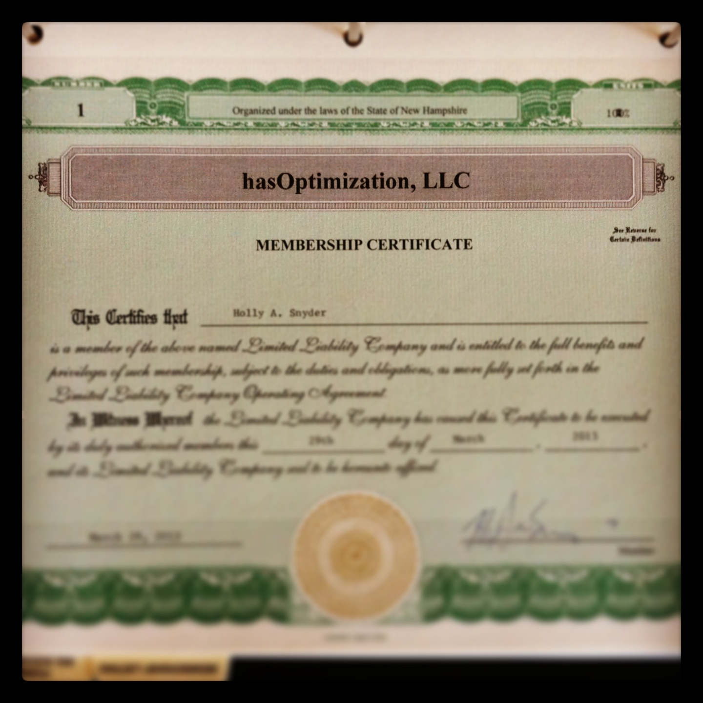 Announcing hasoptimization llc a digital marketing company hasoptimization llc membership certificate xflitez Gallery
