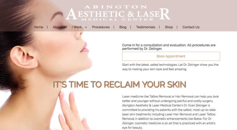 Abington Aesthetic's New Site