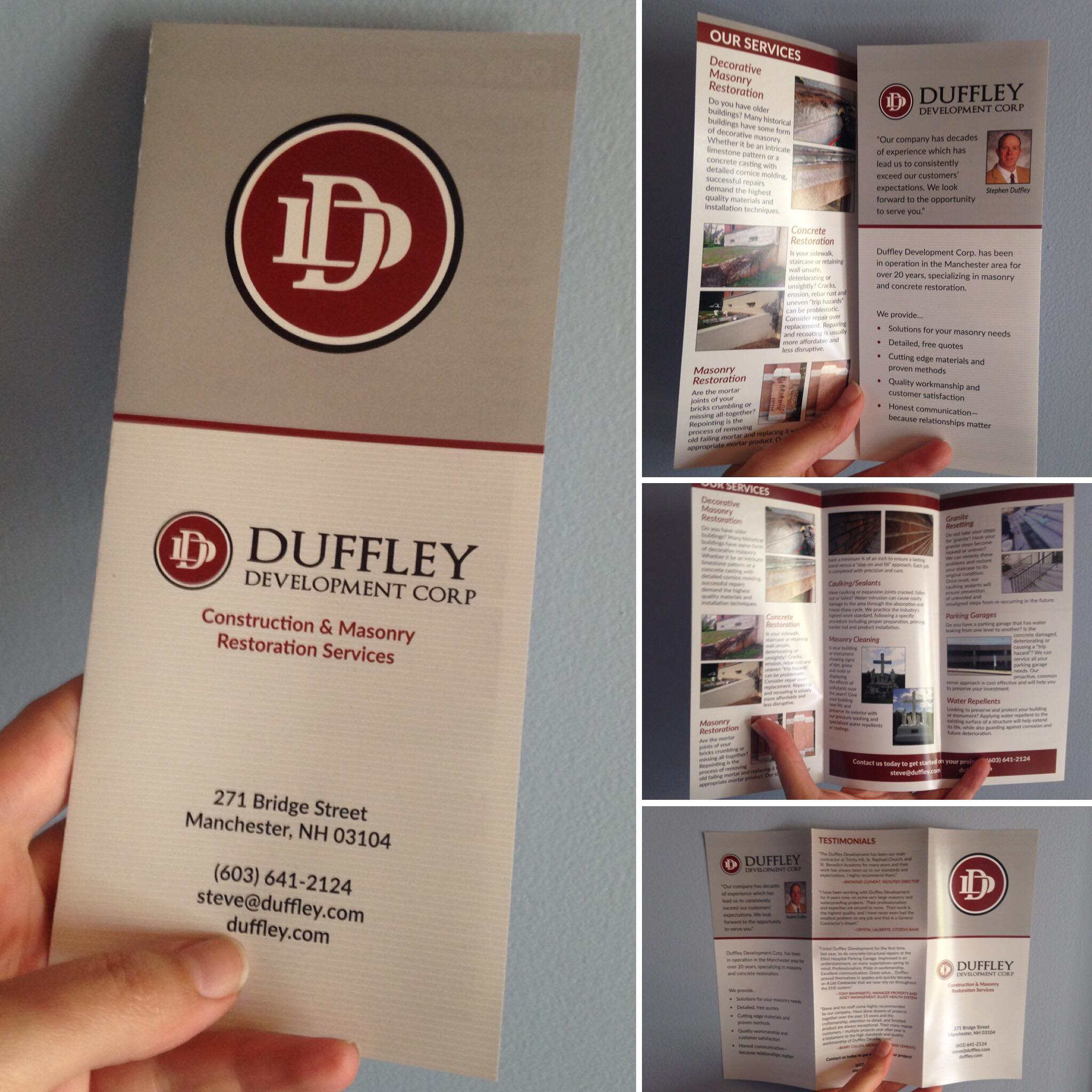 Duffley Development Brochures