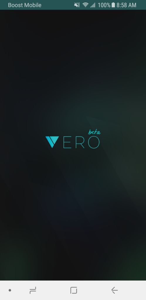 Vero Splash Screen