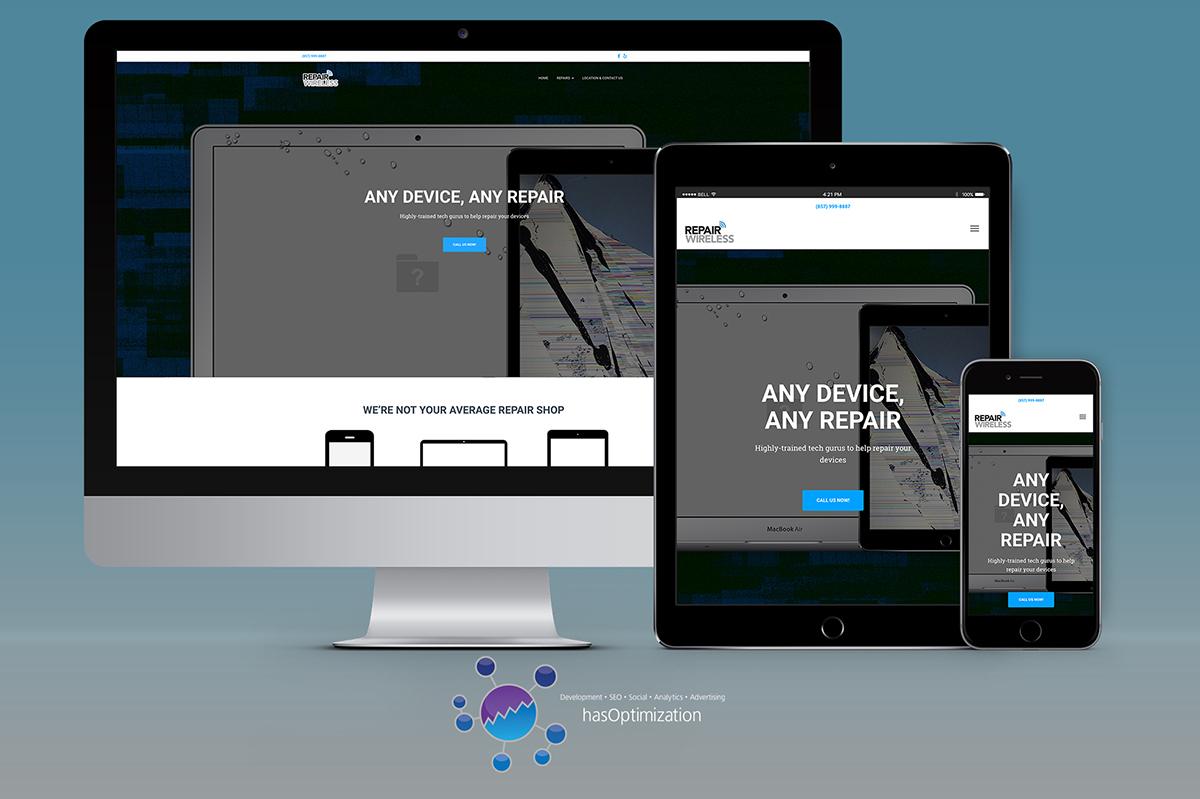 Repair Wireless Site Redesign