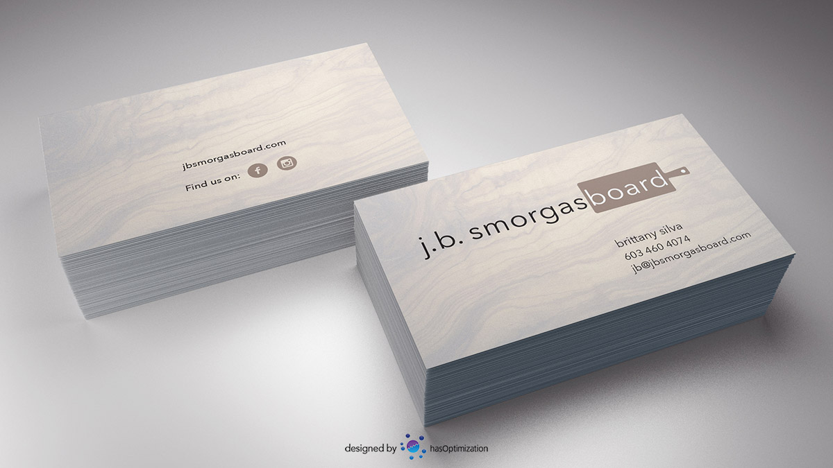 j.b. smorgasboard Business Card