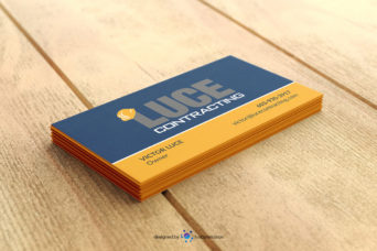 Luce Contracting Business Card