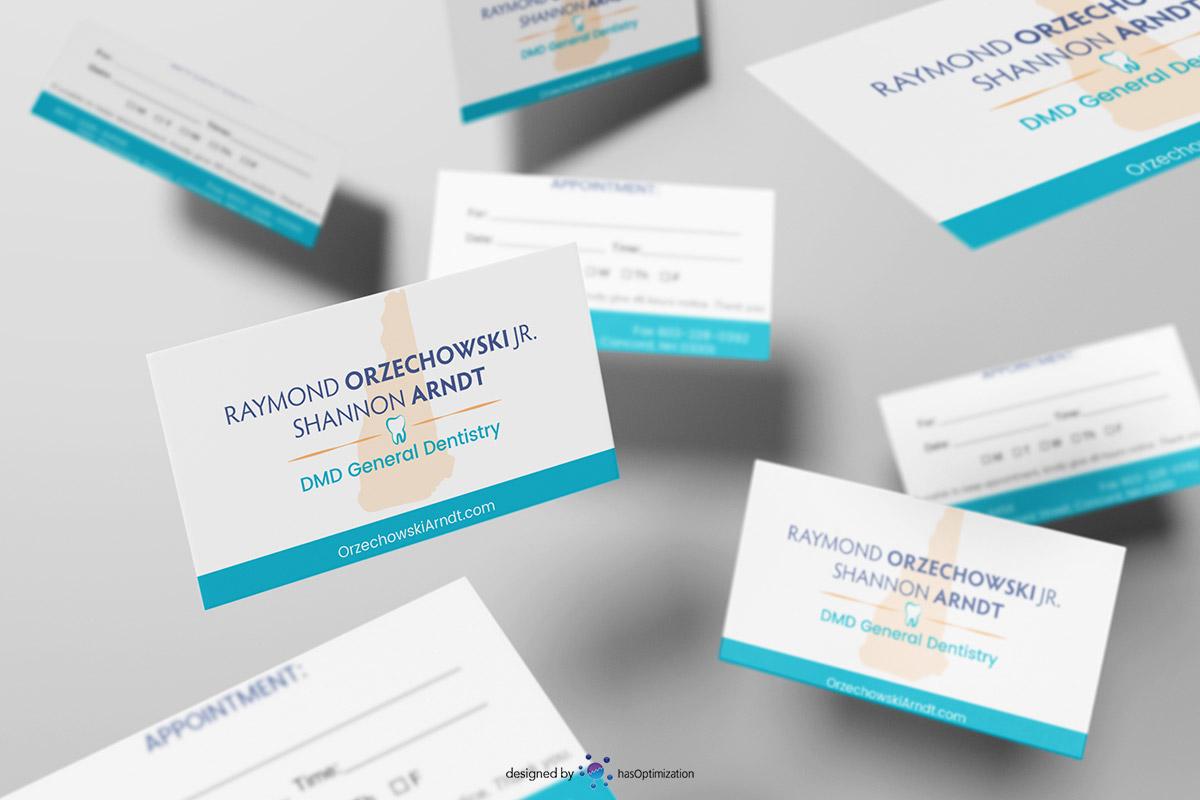 Orzechowski and Arndt Business Card