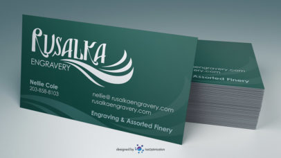 Rusalka Business Card
