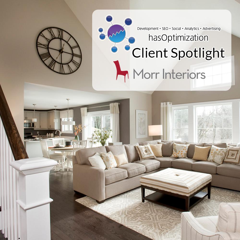 Client Spotlight: Morr Interiors