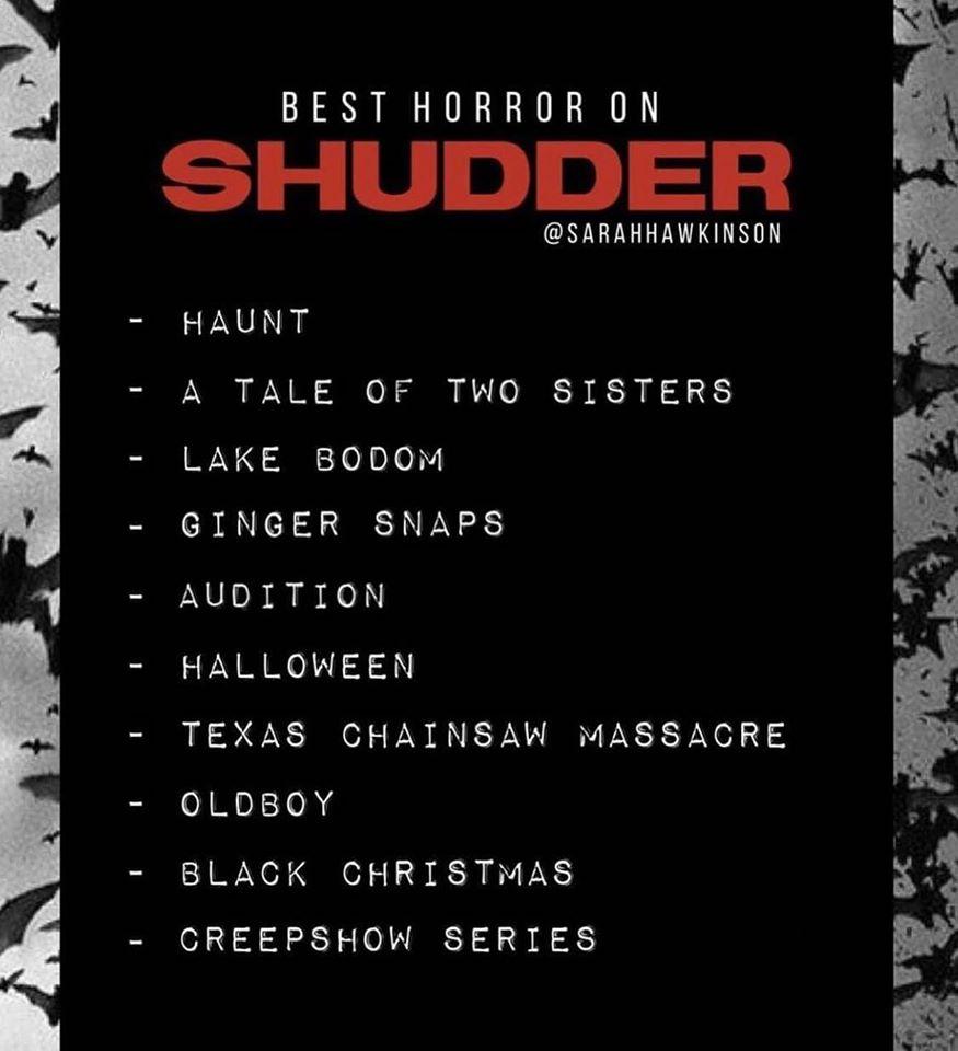 Best Horror on Shudder