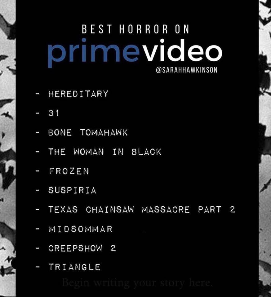 Best Horror on Prime Video