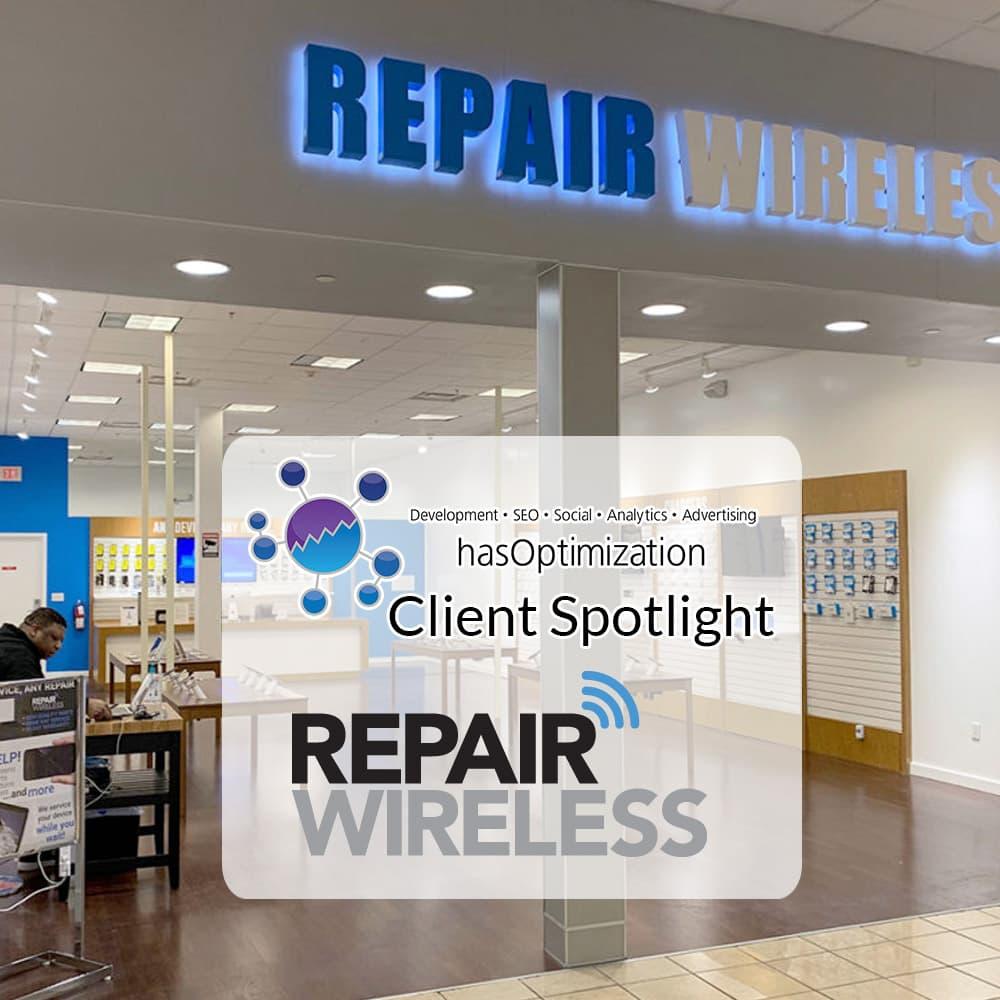 Client Spotlight Repair Wireless