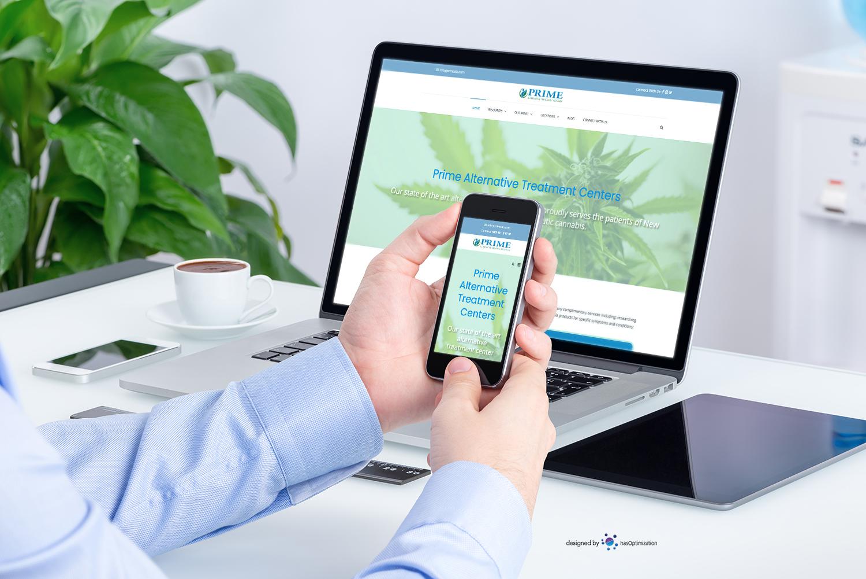Site Launch: Prime Alternative Treatment Centers