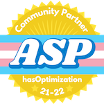 Affirming Spaces Project Community Partner Badge